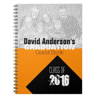 Cuaderno Clase de la fiesta de graduación de libro de