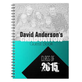 Cuaderno Clase de la fiesta de graduación del libro de