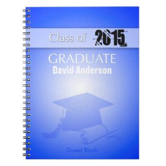 Cuaderno Clase del libro de visitas 2017 de la graduación