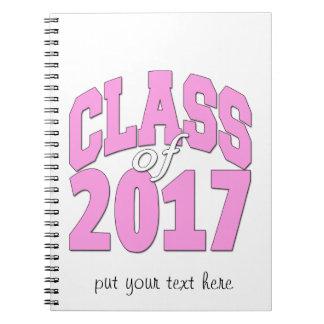Cuaderno Clase del rosa 2017