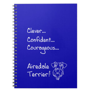 Cuaderno Clever Airedale Terrier