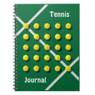 Cuaderno Coche de tenis, personalizado