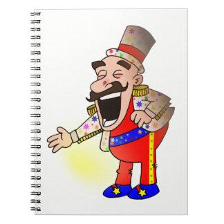 Cuaderno Cocinero del circo