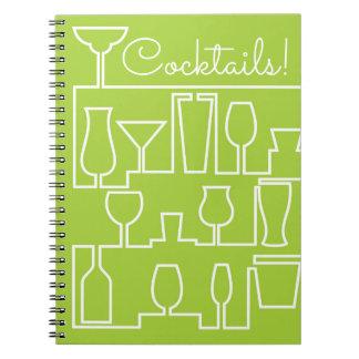 Cuaderno Cóctel de la verde lima