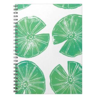 Cuaderno Cojines de lirio