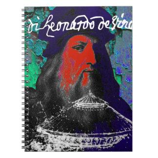 Cuaderno Collage de las técnicas mixtas del genio de