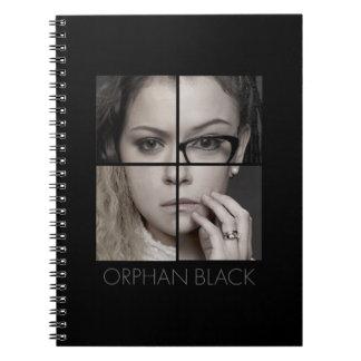 Cuaderno Collage huérfano de la copia del negro el |