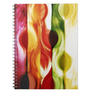 Cuaderno color en -1 notizbuch motion
