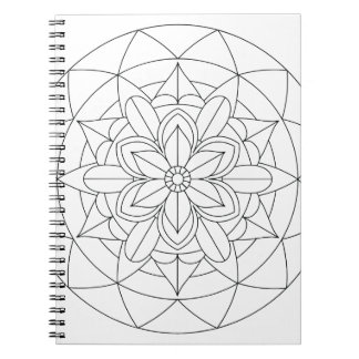 Cuaderno Color-Su-Propia mandala floral geométrica 060517_2