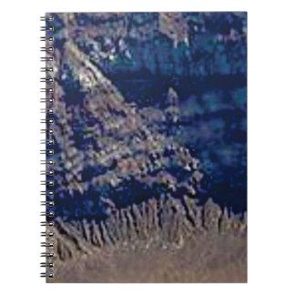 Cuaderno colores acodados de la roca