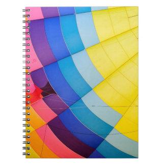 Cuaderno Colorido abstracto