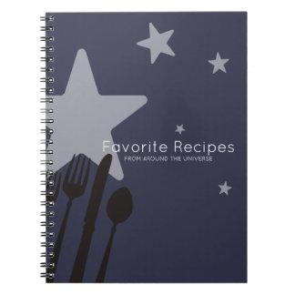 Cuaderno Comida de las estrellas del universo 5 que cocina