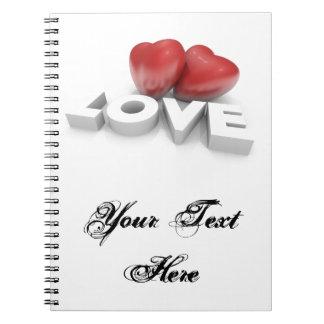 Cuaderno con amor