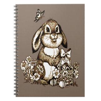 Cuaderno Conejito de pascua
