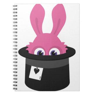Cuaderno Conejito rosado lindo para Pascua feliz