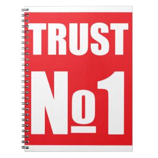 Cuaderno Confianza nadie