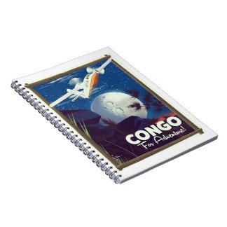 Cuaderno ¡Congo para la aventura! poster del viaje