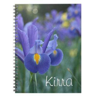 Cuaderno conocido personalizado del regalo del