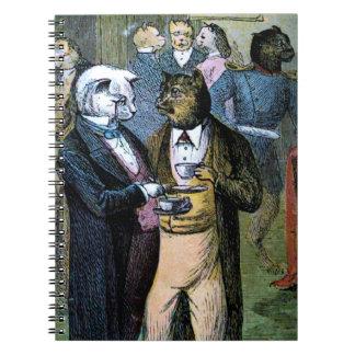 Cuaderno Conversación del gato