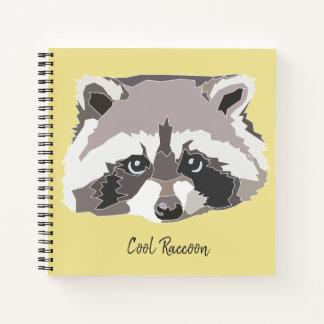 Cuaderno Cool Raccoon Notebook (Inglés)