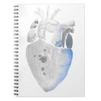 Cuaderno Corazón de la piedra