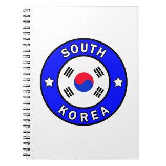 Cuaderno Corea del Sur
