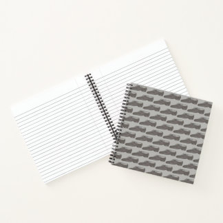 Cuaderno Coreógrafo gris negro del profesor del zapato de