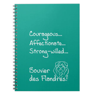 Cuaderno Courageous Bouvier