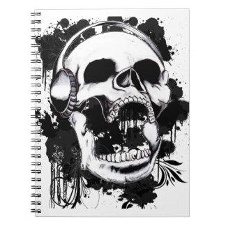 Cuaderno Cráneo de la roca