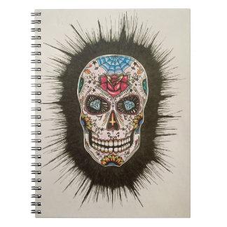 Cuaderno Cráneo del azúcar