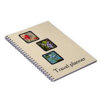 Cuaderno Cree a su propio planificador del viaje