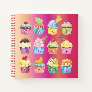 Cuaderno Cree sus propias invitaciones deliciosas del