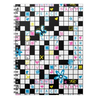 Cuaderno Crucigrama del chica