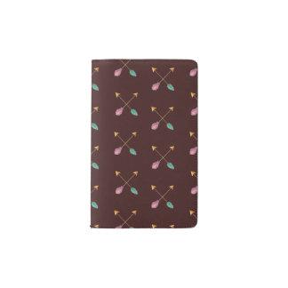 Cuaderno cruzado de las flechas
