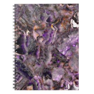 Cuaderno cuarzo púrpura