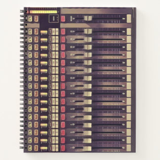 Cuaderno Cubierta del audio del estudio de grabación