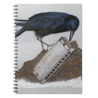 Cuaderno Cuervo y armónica