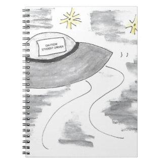 Cuaderno Cumpleaños del UFO