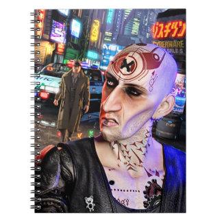 Cuaderno Cyberpunk Streetlife #1