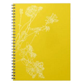 Cuaderno Dalias amarillas