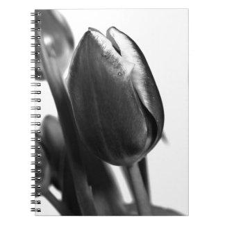 Cuaderno Dark Elegance of Tulips