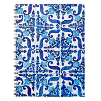 Cuaderno de Azulejo del portugués