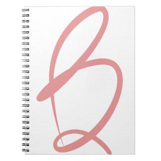 Cuaderno de B - letras a las series de Keller