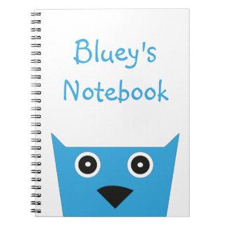 Cuaderno de Blueys