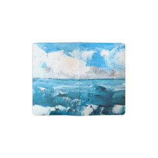Cuaderno de bolsillo del paisaje de las colinas
