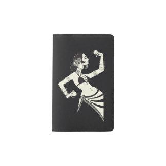 Cuaderno De Bolsillo Moleskine bailarina de la danza del vientre tribal de la