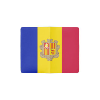 Cuaderno De Bolsillo Moleskine Bandera patriótica de Andorra