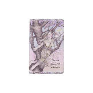 Cuaderno De Bolsillo Moleskine Faerie de hadas SM de la dríada de Apple. BOS