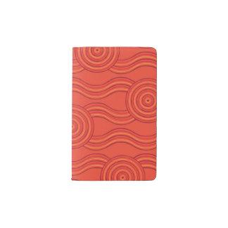 Cuaderno De Bolsillo Moleskine Fuego aborigen del arte