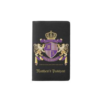 Cuaderno De Bolsillo Moleskine Haga su propio emblema de la corona del monograma